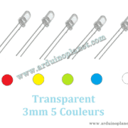 Led 3mm Transparent