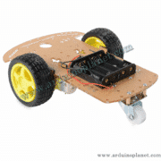 Kit Chassis Robot Voiture 2WD